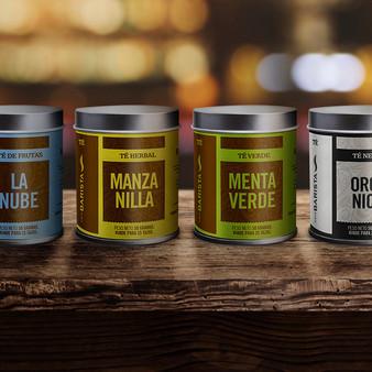 Café Barista - Tea Can