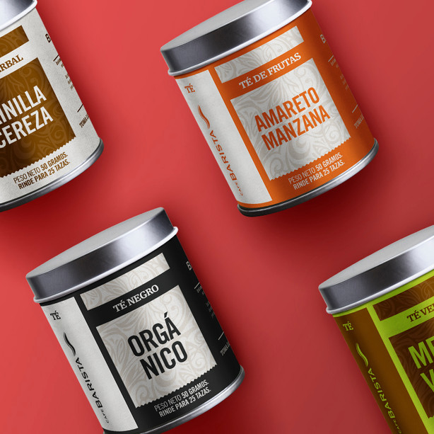 Café Barista - Tea Packaging