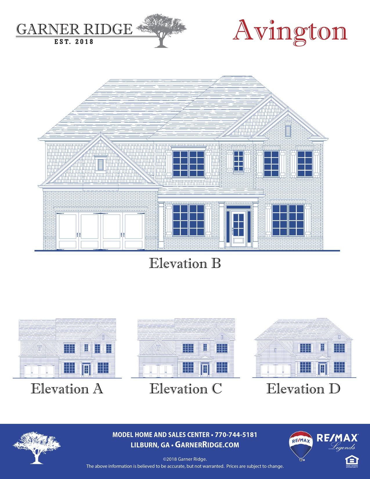 Avington Floor Plan