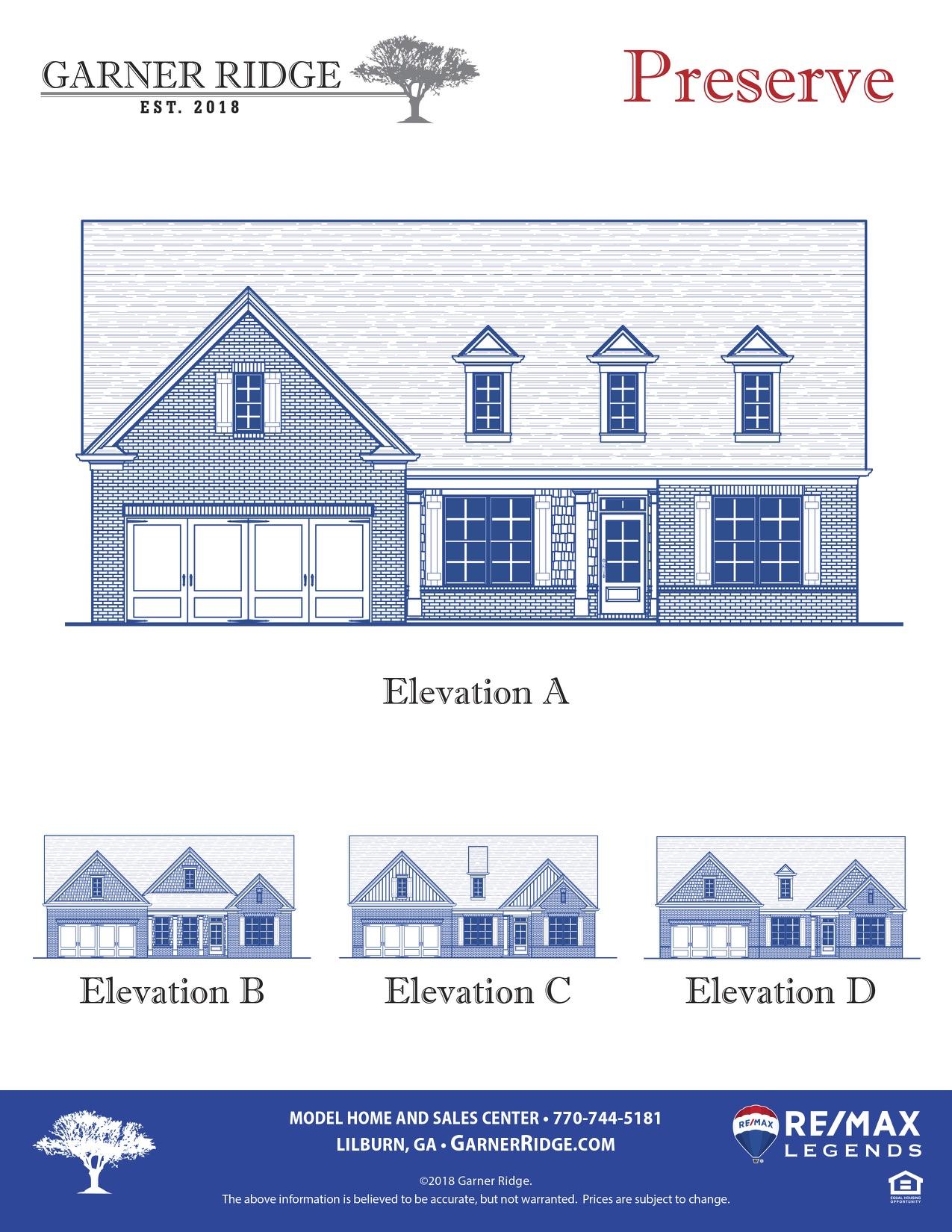 Preserve Floor Plan revA