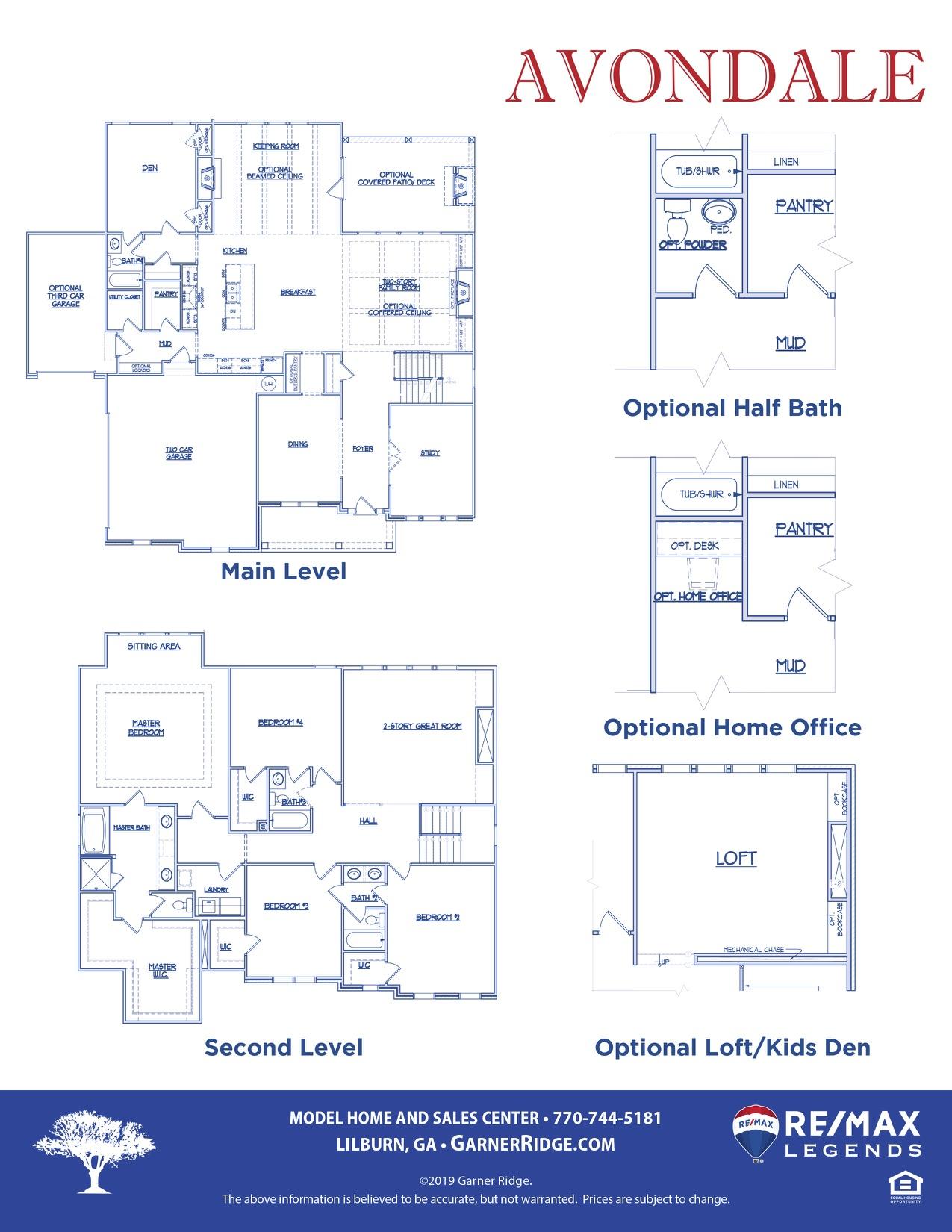 Avondale Floor Plan2