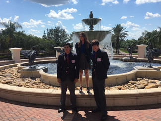 State Officers go to National TSA