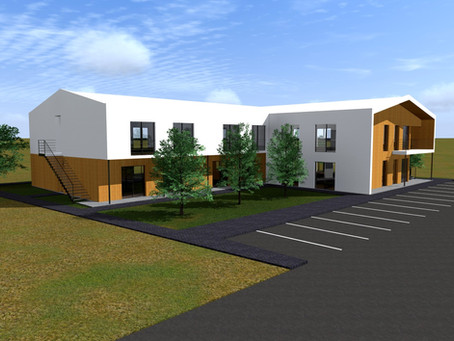Edifício de Habitação e Creche em Light Steel Framing