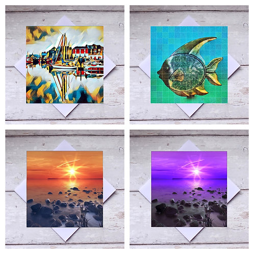 Beach & Seaside Greeting Cards