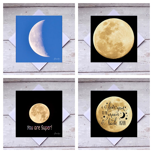 Moons 1 - Greeting Cards