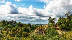 View From Hawkstone