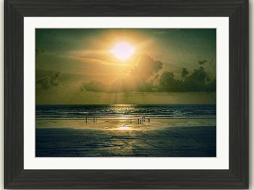 Sunset Seekers Framed Print