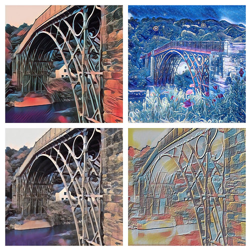 The Ironbridges Photoart Collection - Greeting Cards