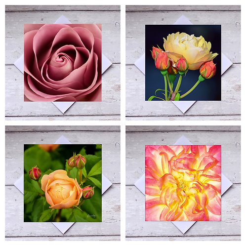 Roses - Mixed Greeting Cards