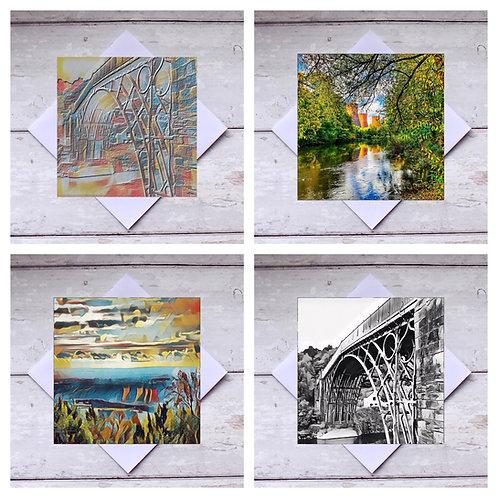 Ironbridge - Mixed 1 Greeting Cards