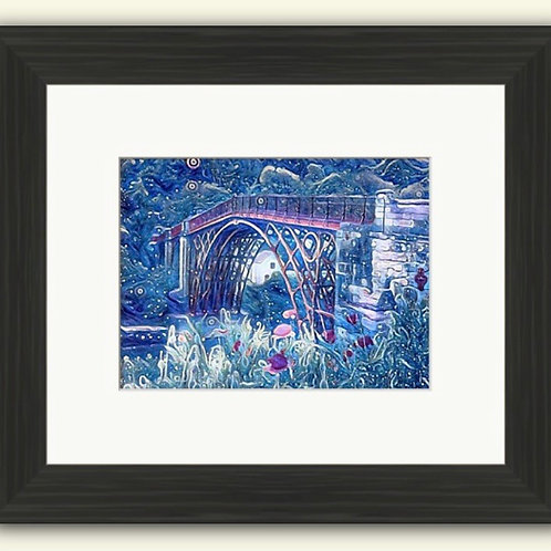 The Magical Ironbridge Framed Print