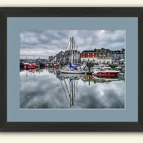 Padstow Harbour Framed Print