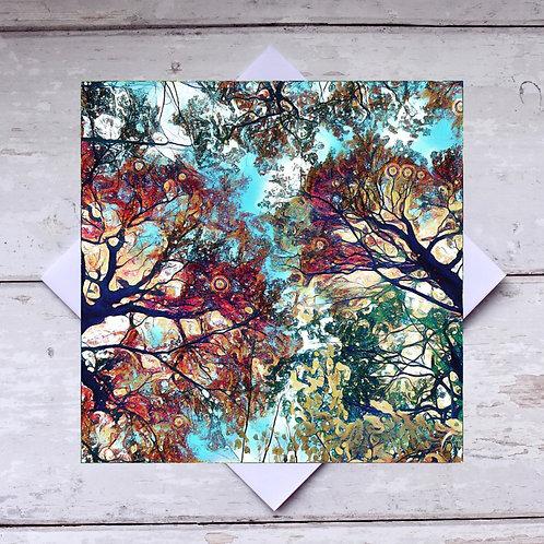 'Tree Canopy' Greeting Card