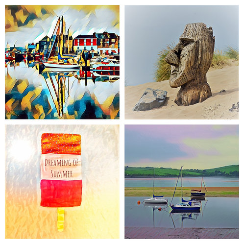 The Summer Mix Collection - Greeting Cards