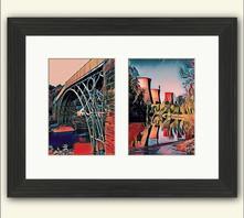 Red Ironbridge & Towers