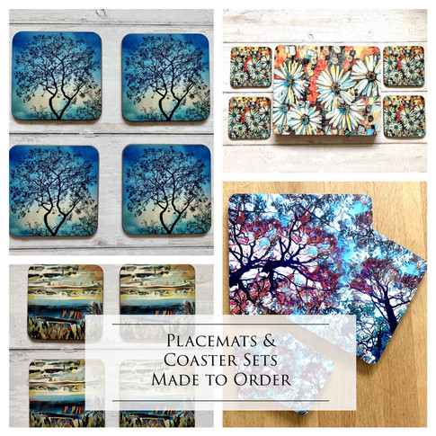Placemats and Coasters from My Designs