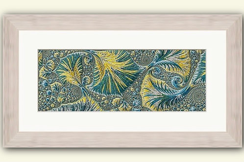 Seaside Abstract Framed Print