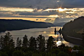 Lake Vrynwy Sunset