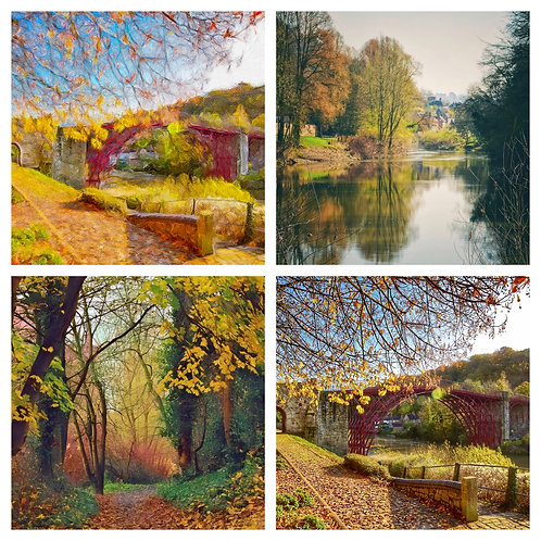 The Autumn Ironbridge Collection - Greeting Cards