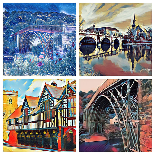 The Shropshire Photoart Collection - Greeting Cards