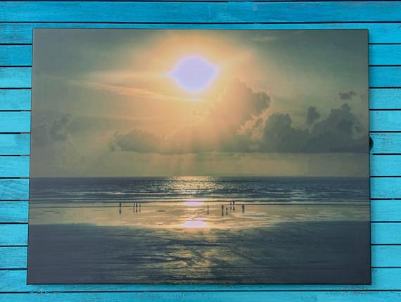 Devon Sunset (80 by 60)