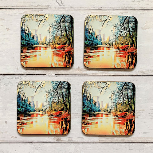 6 x Towers Photoart Coasters