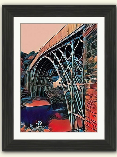 Red Ironbridge Photoart Framed Print