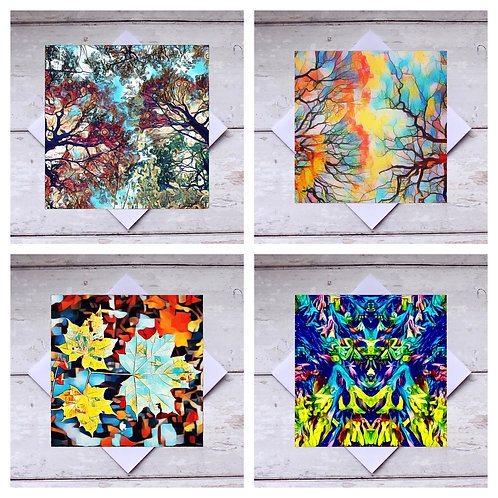 Photoart Abstracts Greeting Cards