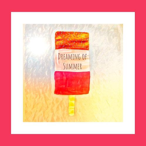 Dreaming of Summer Personalised eCard