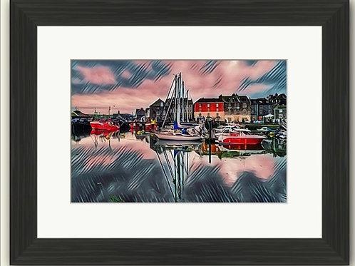 Padstow Harbour Photoart