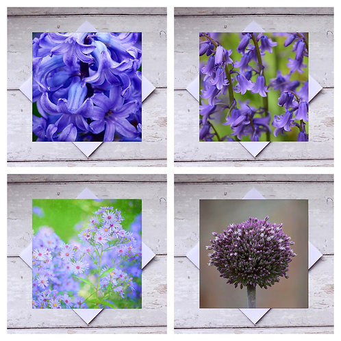 Flowers - Mixed 3 Greeting Cards