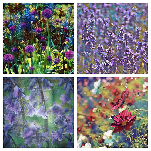 The Mixed Florals Collection - Greeting Cards