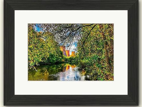 Nature v Industry Framed Print
