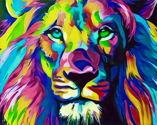 Lion Poster Art