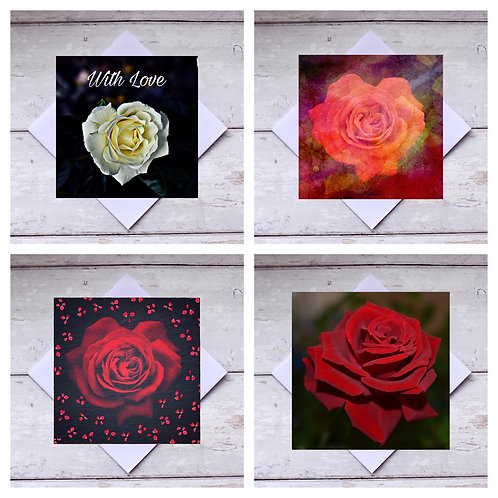Roses 2 - Greeting Cards