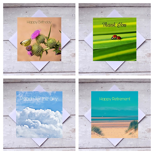 Mixed Occasions 1 Greeting Cards