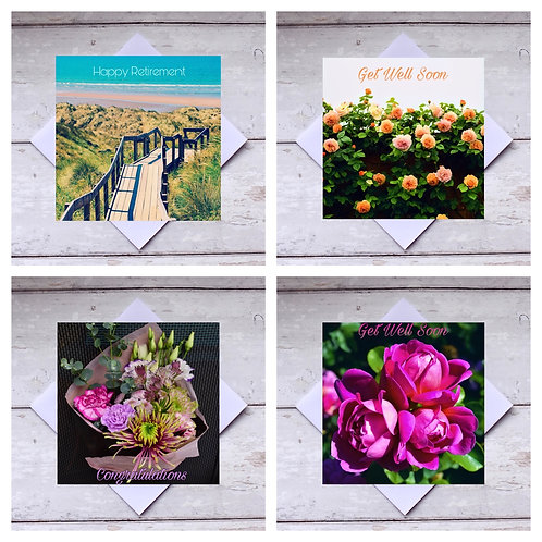 Mixed  Occasions 2 Greeting Cards