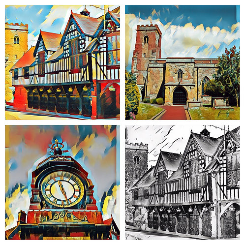The Much Wenlock Collection - Greeting Cards