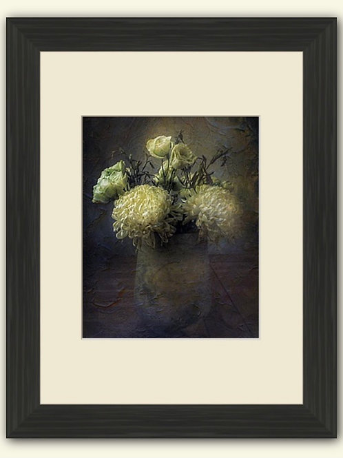 Old Masters Style Bouquet Photoart Framed Print