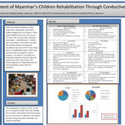 Enlightenment of Myanmar's Children Rehabilitation Through Conductive Education
