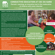 CONDUCTIVE EDUCATION AT CEC DU GARD