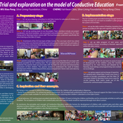 Trial and exploration on the model of Conductive Education
