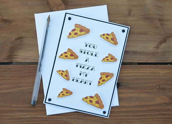 Pizza Greetings Card