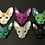resin spynx cats