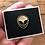 Alien pin badge
