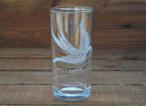 Swallow glass