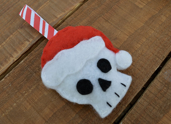 Skull Christmas Decoration
