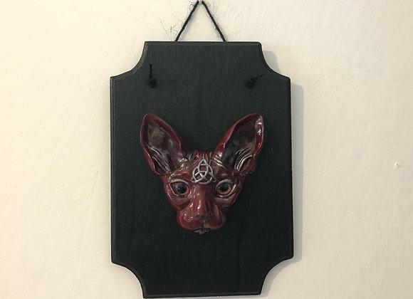 Mystical Sphynx Cat Plaque