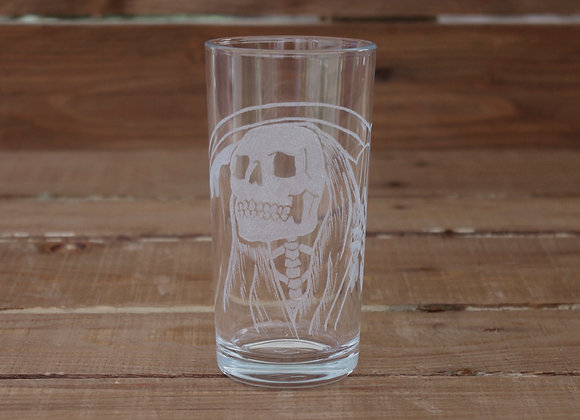 Grim Reaper Glass