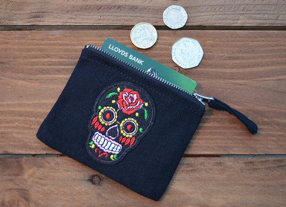 skull storage pouch